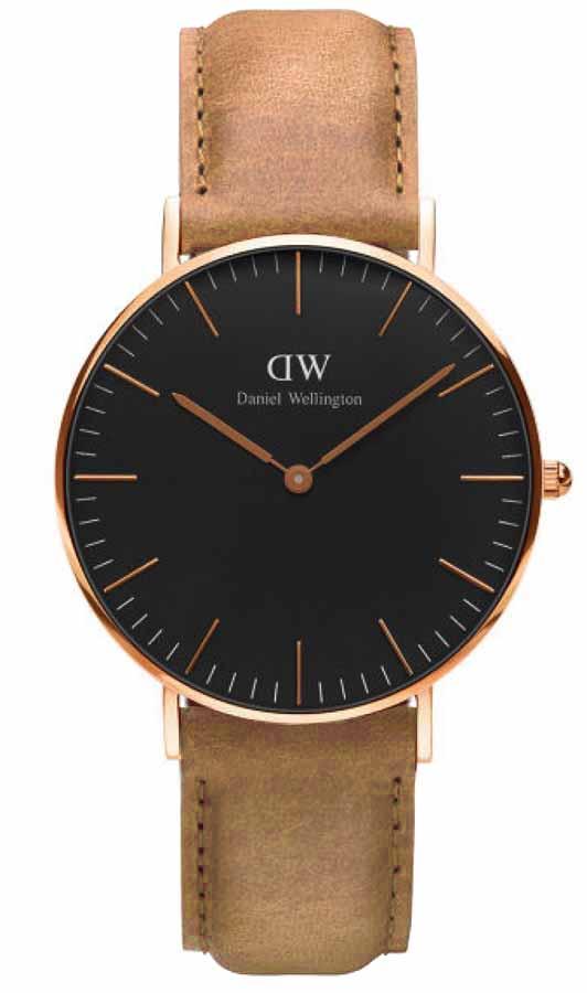 Daniel Wellington DW00100138 Classic St Mawes Black 36mm