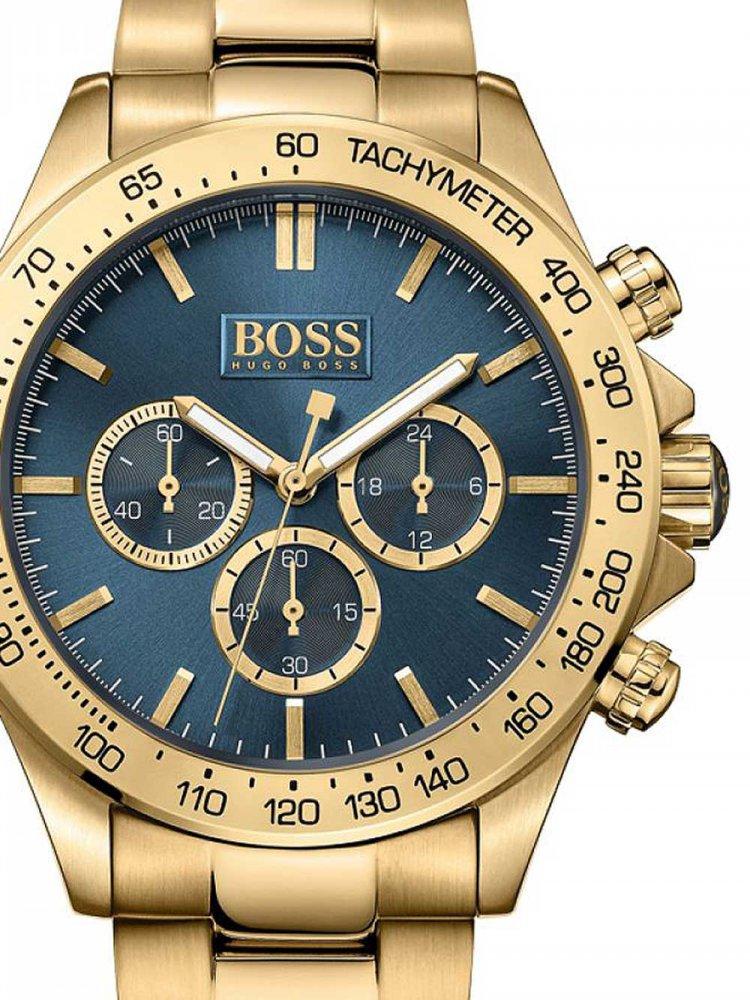 Pánské hodinky Hugo Boss 1513340 Ikon Chronograph 44mm 10ATM