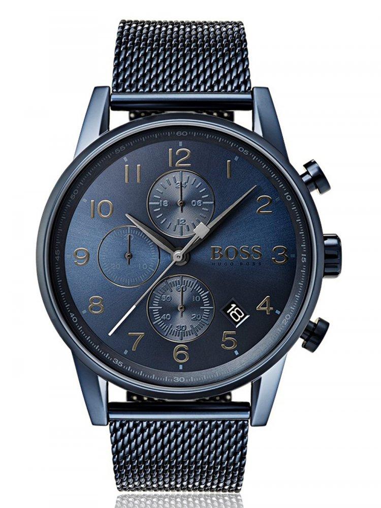 Pánské hodinky Hugo Boss 1513538 Navigator Chrono 44mm 5ATM