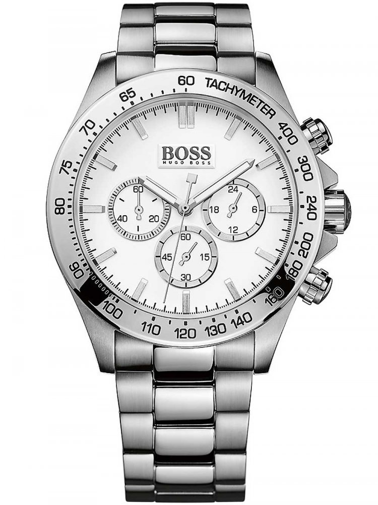 Pánské hodinky Hugo Boss 1512962 Ikon Chrono 1512962 44mm 10ATM