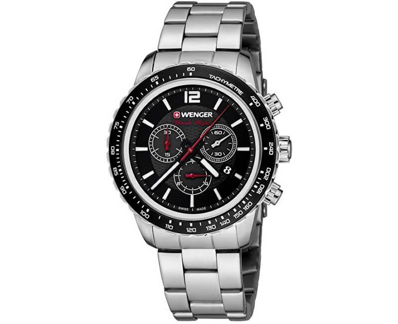 Pánské hodinky Wenger 01.0853.107 Roadster Black Night