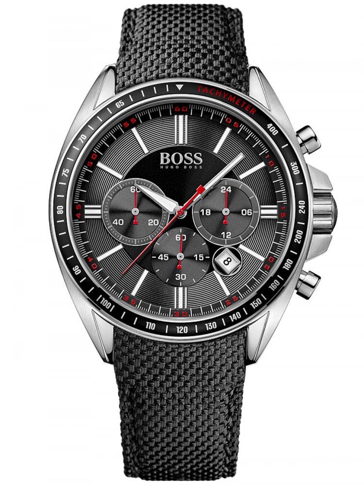 Pánské hodinky Hugo Boss Black Driver Sport 1513087 Chrono 44 mm