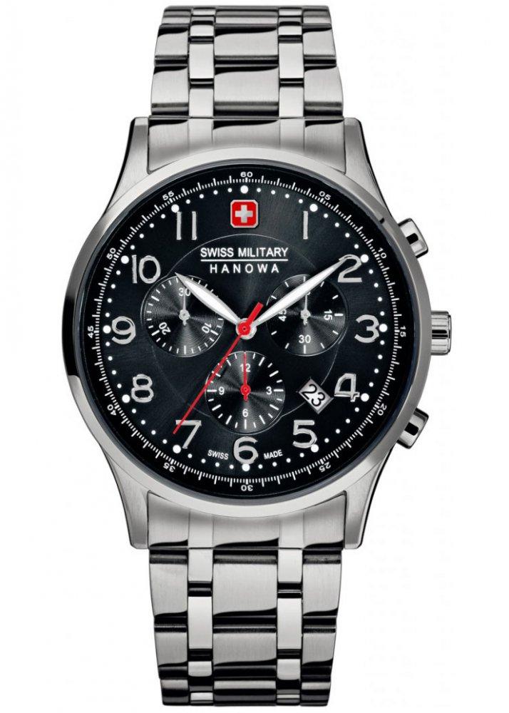 Pánské hodinky Swiss Military Hanowa PATRIOT 06-5187.04.007